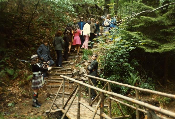Fairy Glen, Rosemarkie 1970s