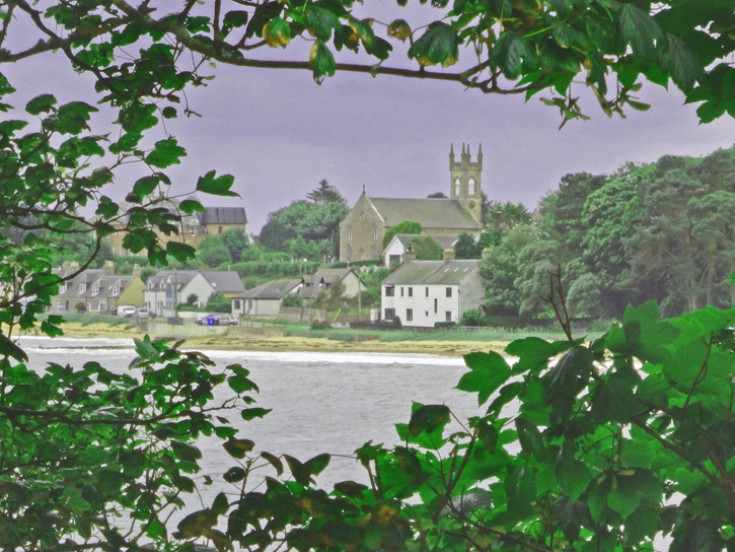 Rosemarkie church from the High