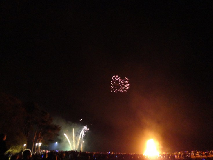 Rosemarkie Bonfire night 2014